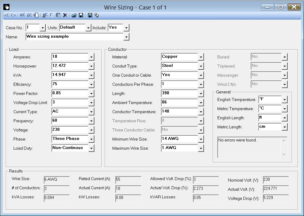Elite software hvac tools wire sizing greentooth Choice Image