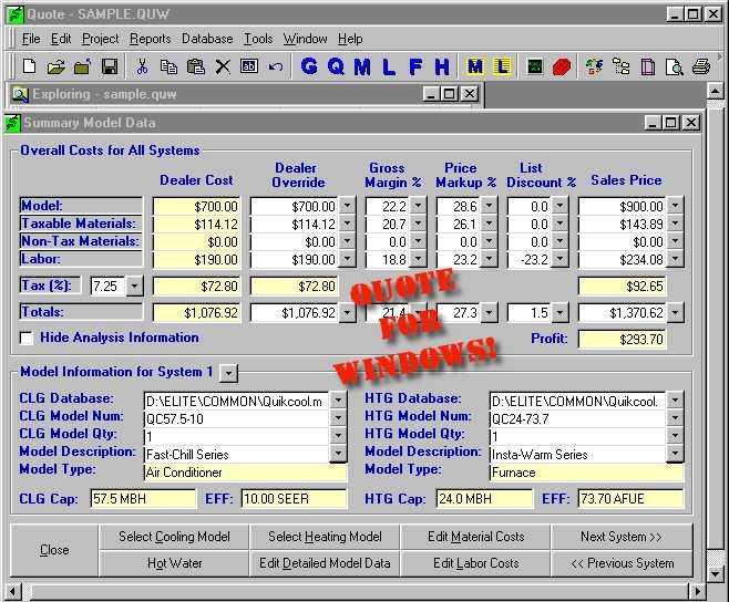 Elite Software - Quote - Sales Proposals