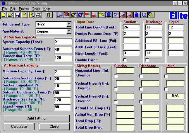 Elite Software Htools Program Collection Of Hvac Tools Hvac Software