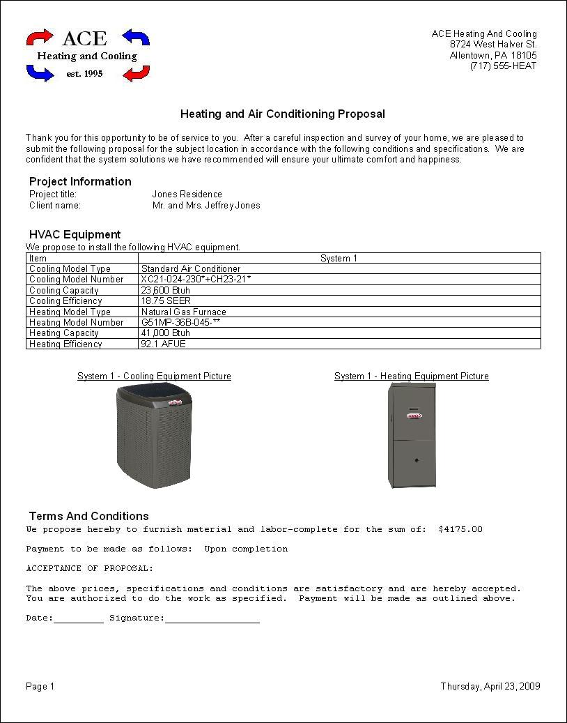 Rhvac Reports Hvac Drawing Review Acca Design Form
