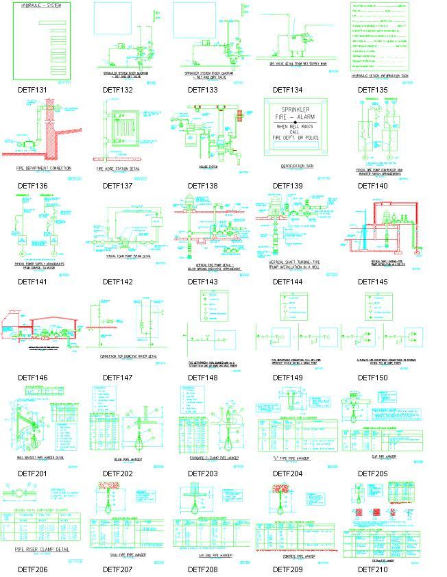 Elite Software - Fire Protetion CAD Details - Sample