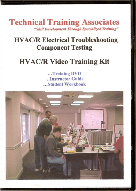 DVD Video - HVACR Electrical Troubleshooting: Component Testing