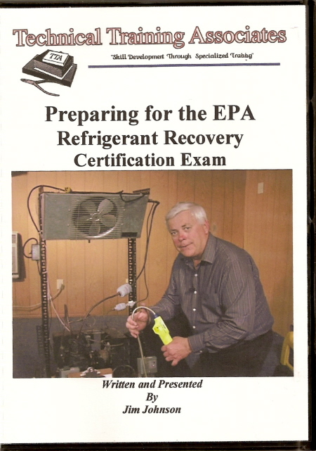 DVD Video - Preparing For The EPA Refrigerant Recovery Exam