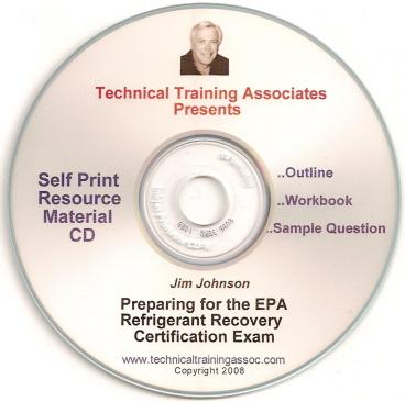 DVD Video - Preparing For The EPA Refrigerant Recovery Exam