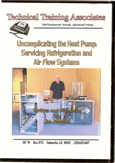 Dvd Video Uncomplicating The Heat Pump Servicing