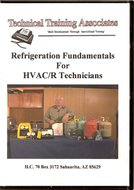 Dvd Video Refrigeration Fundamentals For Hvac R Technicians